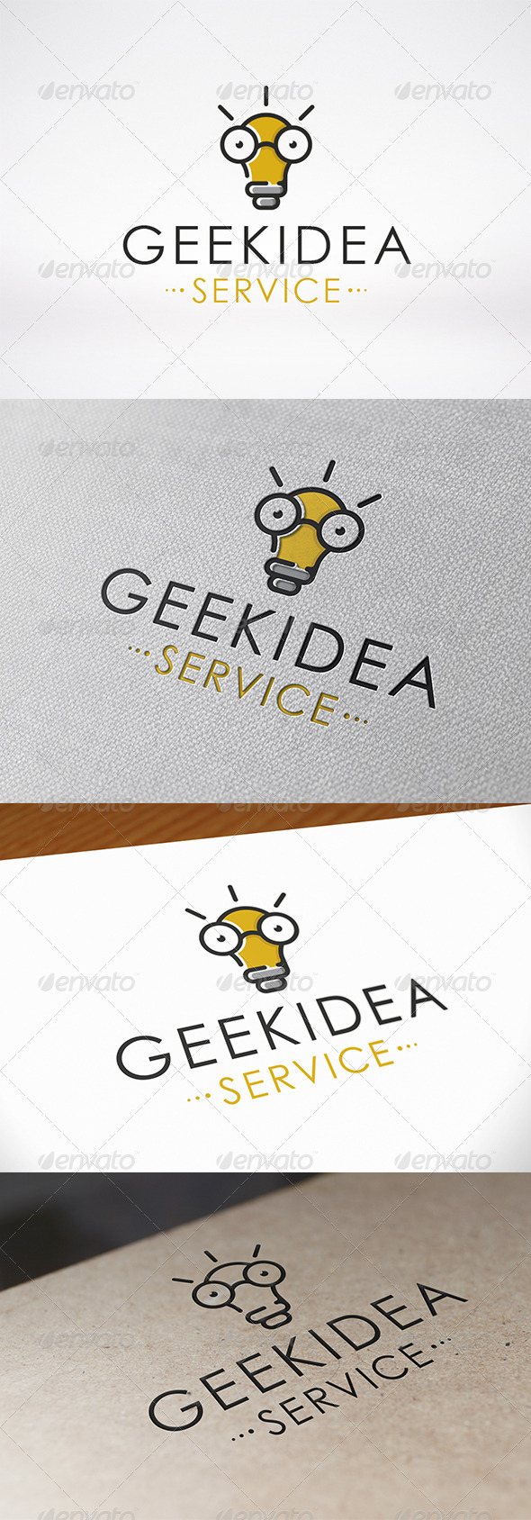 GraphicRiver Geek Idea Logo Template 6776170