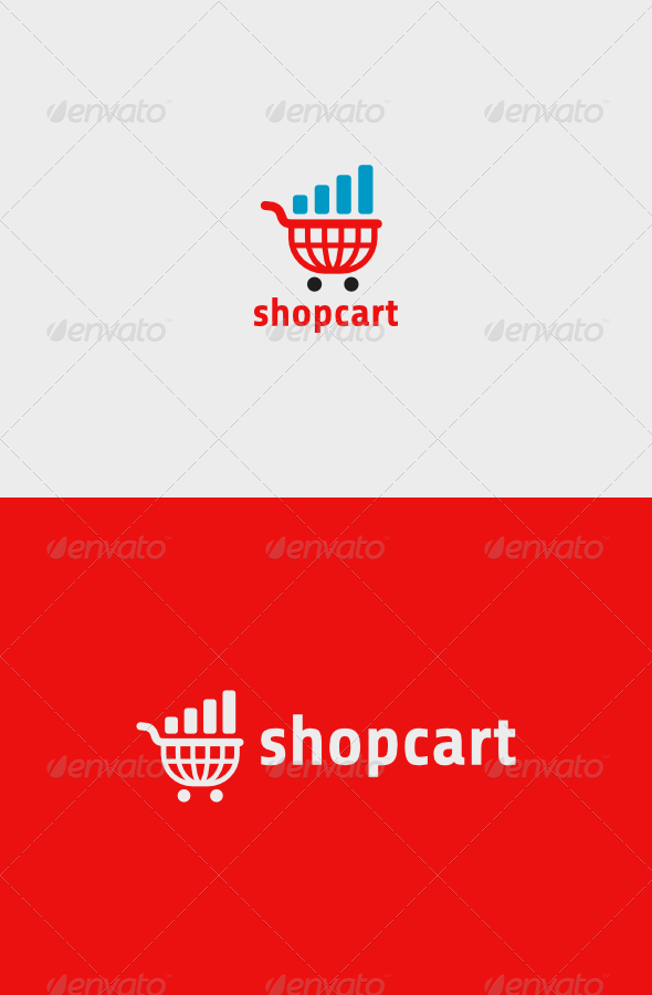 GraphicRiver Shop Cart Logo 6776429