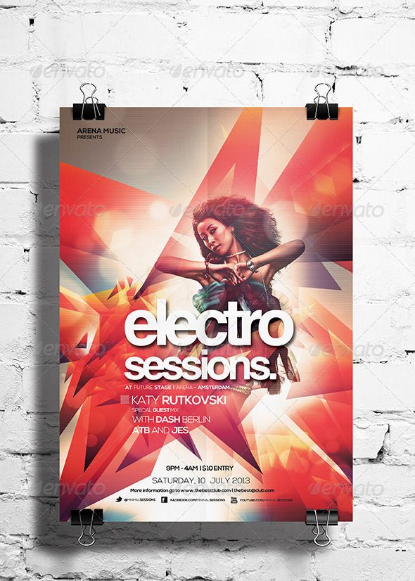 Electro Sessions Vol 2 - Clubs & Parties Events