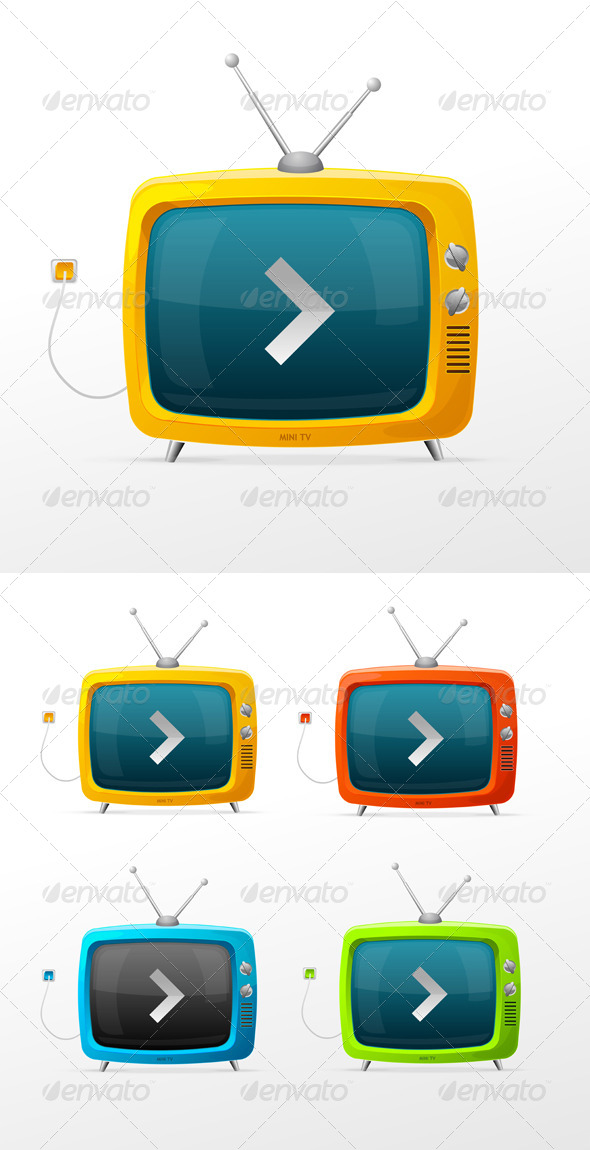 GraphicRiver TV Collection 6777850