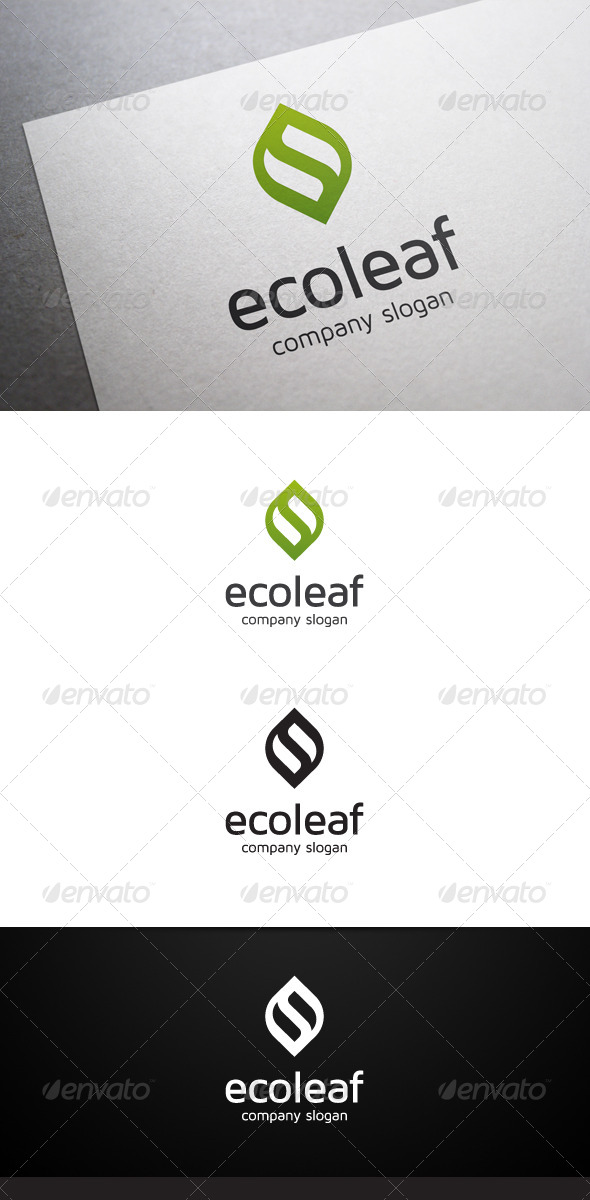 GraphicRiver Eco Leaf Logo 6777860
