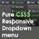 Pure CSS3 Responsive Drop down Menu (Navigation and Menus) Download