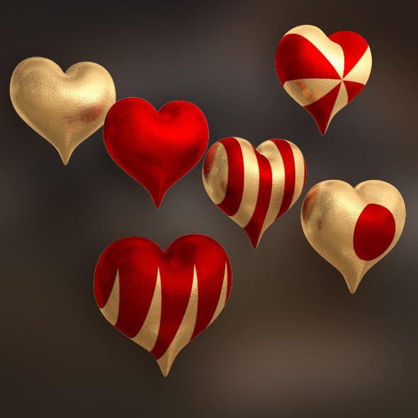 3DOcean Hearts 6 6778747