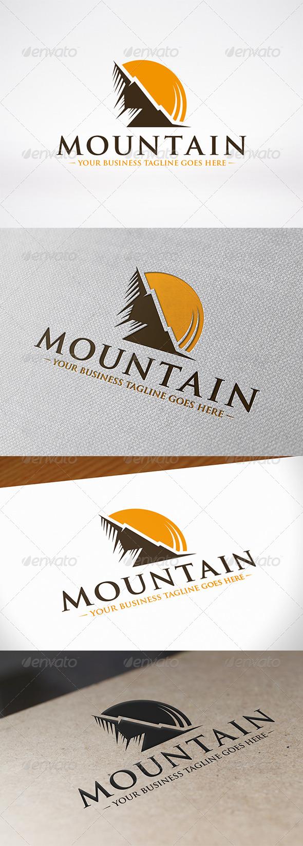 GraphicRiver Mountain Logo Template 6779614