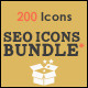SEO Icons Bundle - GraphicRiver Item for Sale