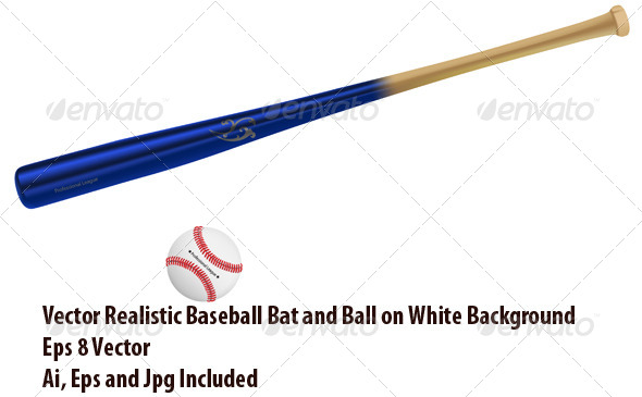 GraphicRiver Baseball Equipment 6780482