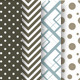 16 Patterns with Dots, Squares and Chevron - GraphicRiver Item for Sale