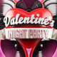 Valentine's Party Poster and Flyer Template - GraphicRiver Item for Sale