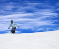Snowboarder on ski slope - PhotoDune Item for Sale