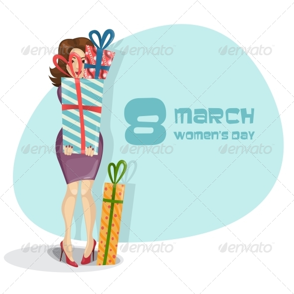 GraphicRiver Happy Women s Day March 8th 6781493