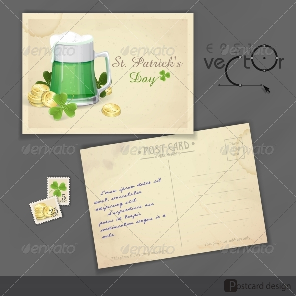GraphicRiver Mug of Green Beer for St Patrick s Day 6781623