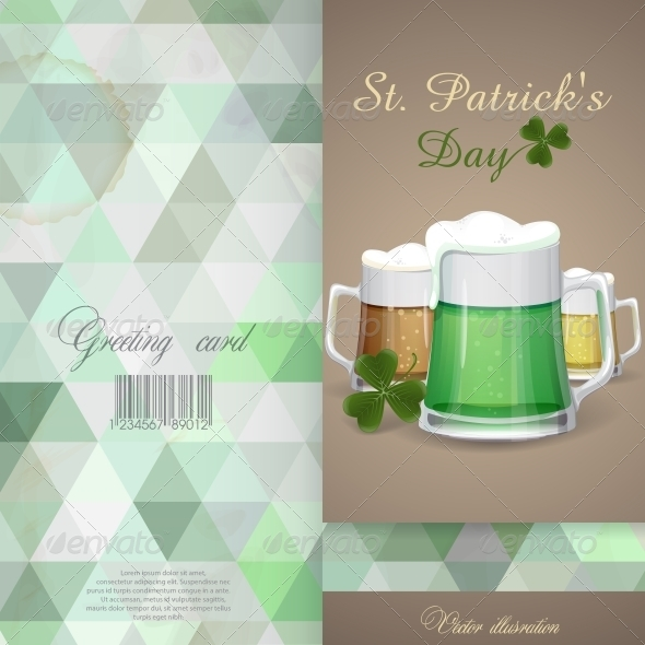 GraphicRiver Mug Of Green Beer For St Patrick s Day 6781629