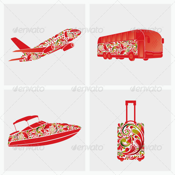 GraphicRiver Travel Set 6782118