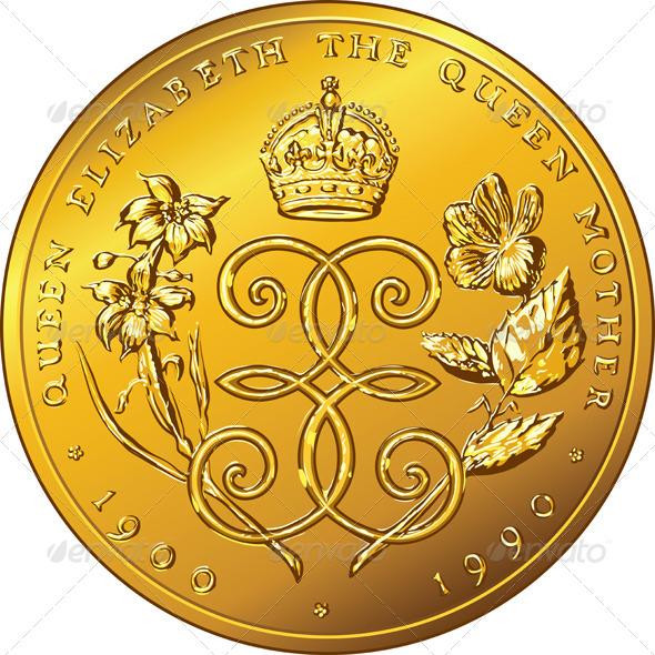 GraphicRiver Gold Coin Dollar Bermuda 6782539