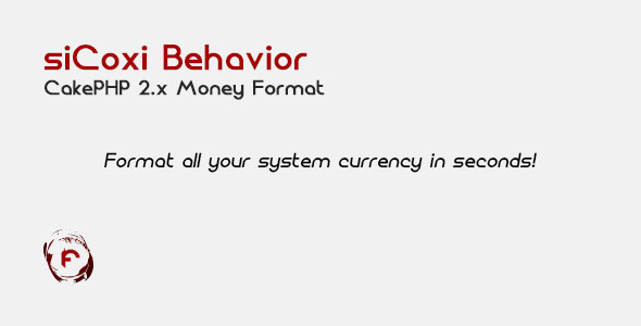 CodeCanyon SiCoxi Behavior CakePHP 2.x Money Format 6783253