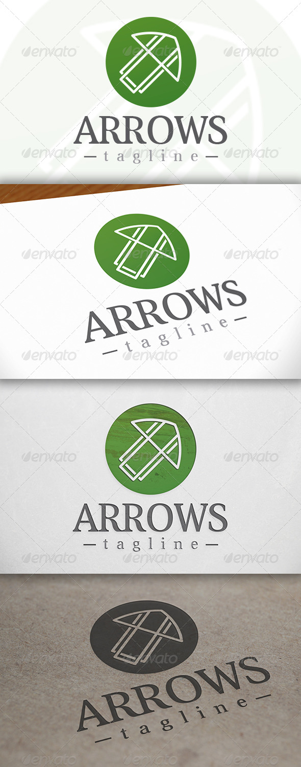 GraphicRiver Arrow Logo 6785558