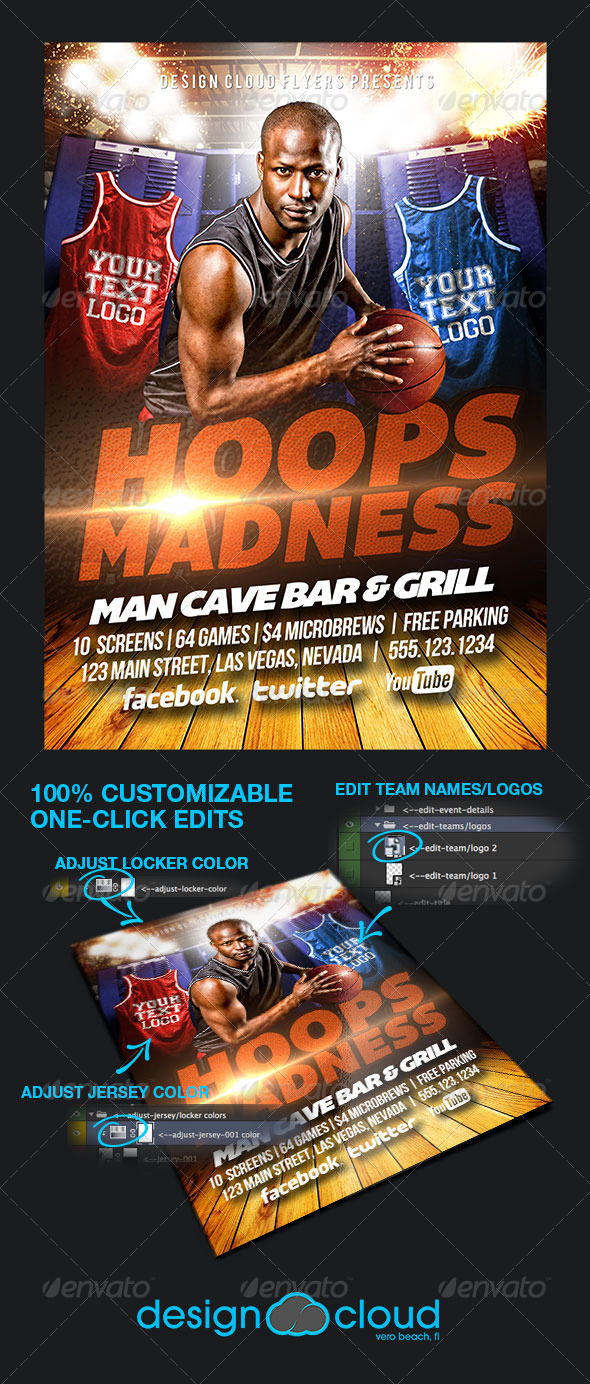 college flyers templates