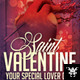 Saint Valentines Flyer Holiday - GraphicRiver Item for Sale