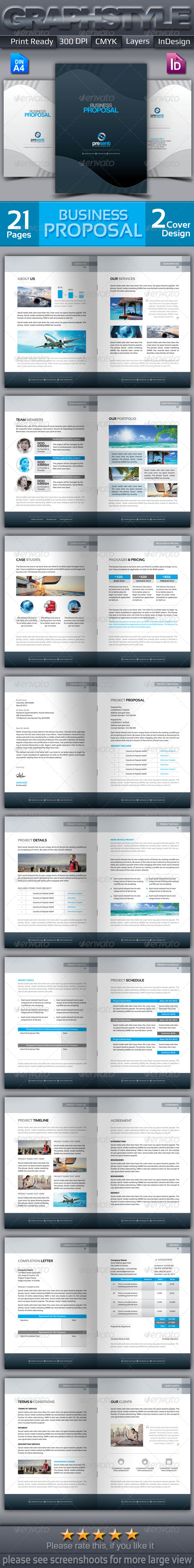 GraphicRiver Present Business Proposal 6785977