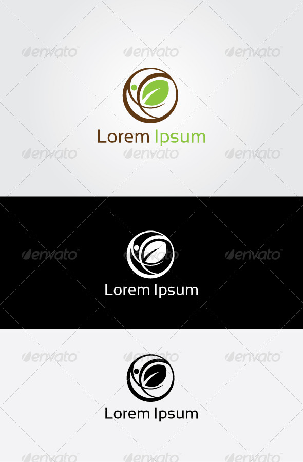 GraphicRiver Nature Care Logo 6786773