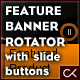 Feature Banner Rotator with slide buttons - ActiveDen Item for Sale