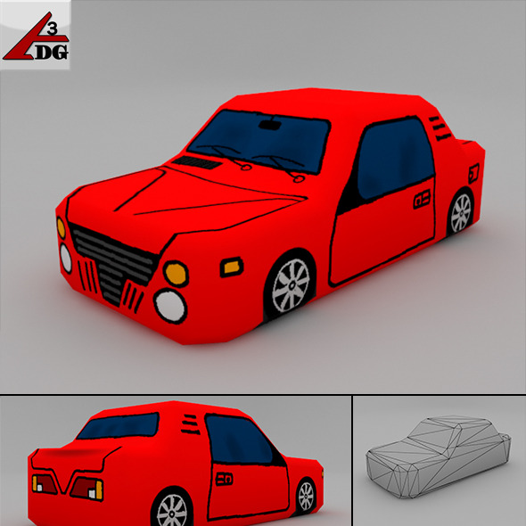 3DOcean Mini car 6787447