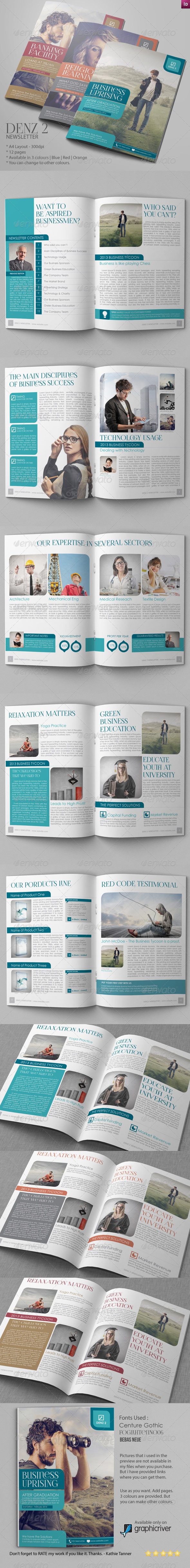GraphicRiver Business Newsletter Vol VII 6788528