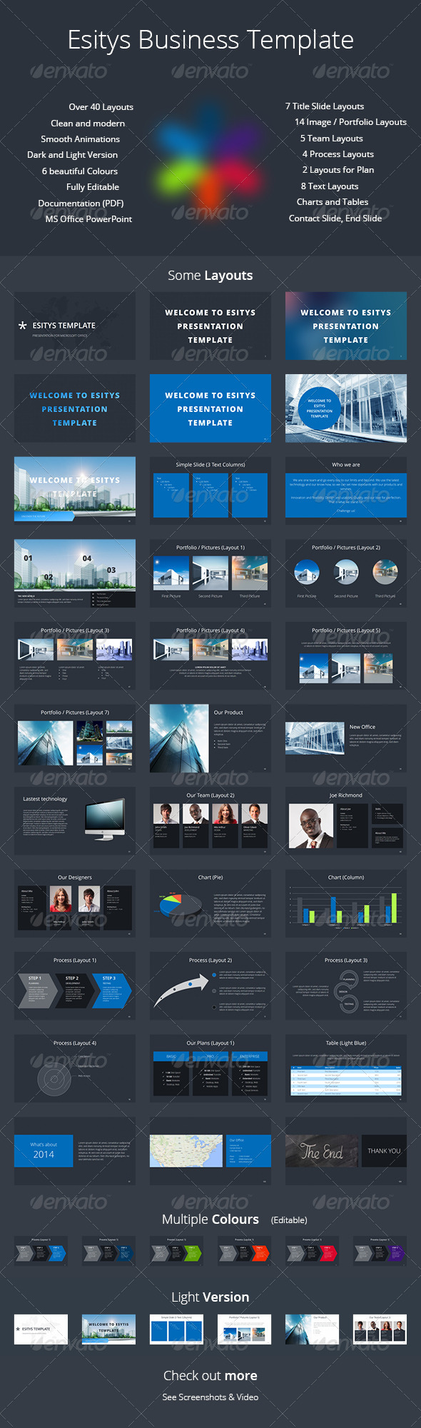 GraphicRiver Esitys Business PowerPoint Template 6758286