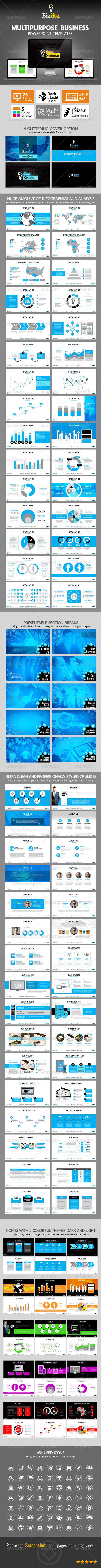 GraphicRiver Multipurpose Business Presentation Template 6788855