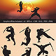 Ninja Silhouettes - GraphicRiver Item for Sale