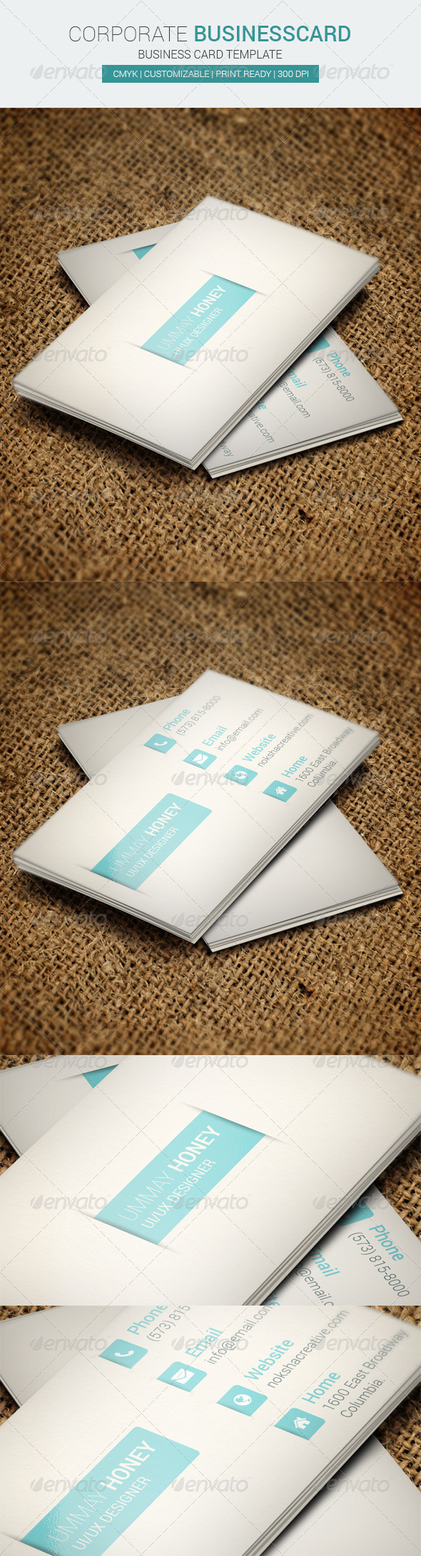 GraphicRiver Corporate Business Card 6789058