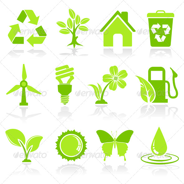 GraphicRiver Environment Icons 6789554