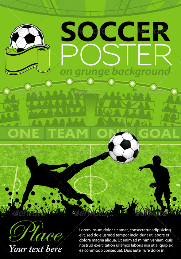 GraphicRiver Soccer Poster 6789555