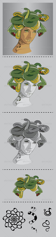 GraphicRiver Medusa 6790004