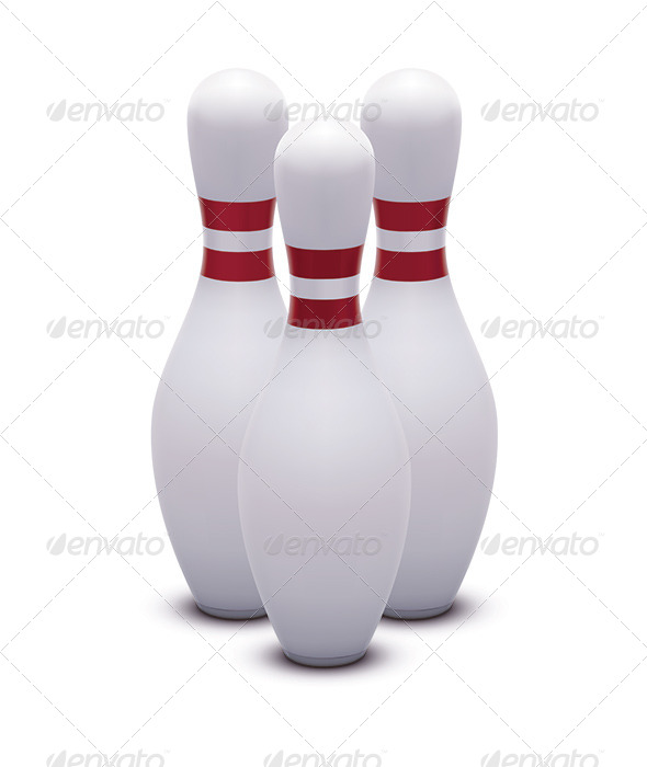 GraphicRiver Bowling Skittles 6790633