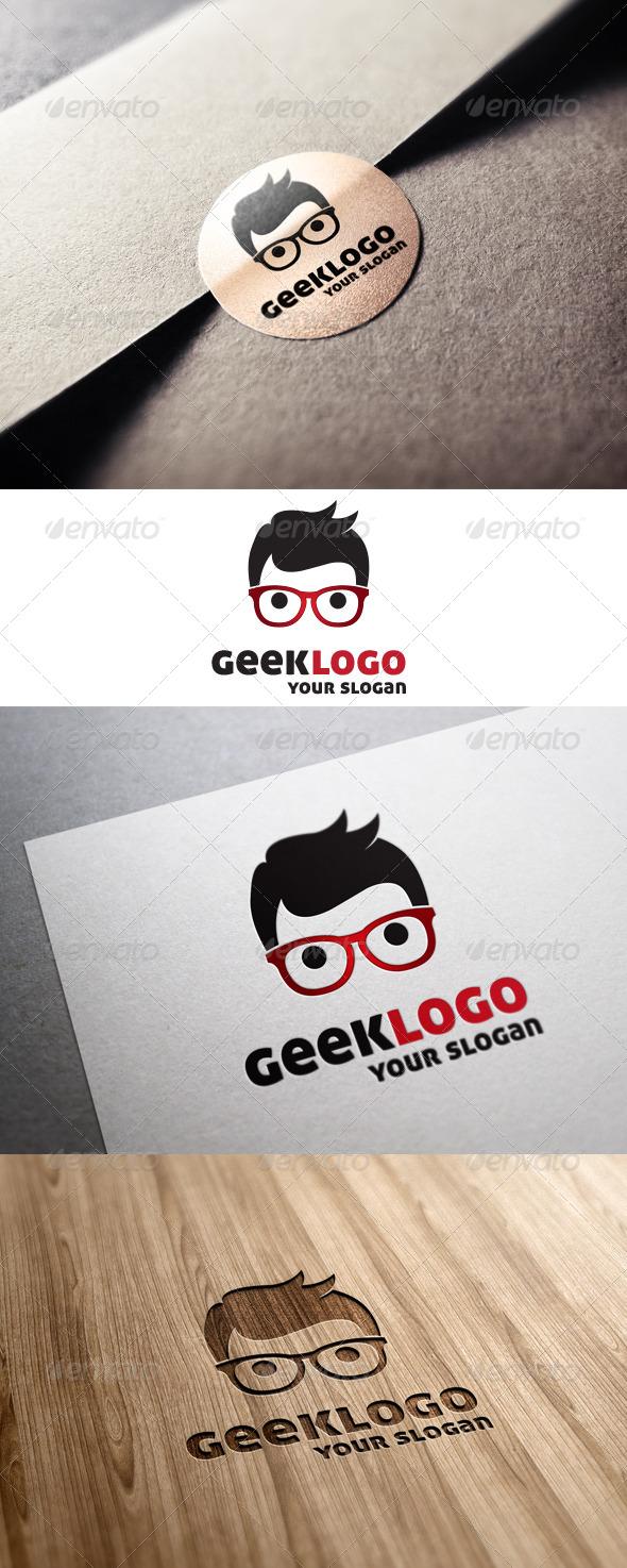 GraphicRiver Geek Logo 6791094