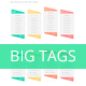 Big Tags Flat Pricing Table - GraphicRiver Item for Sale