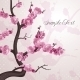 Cherry Flowers. Card with Spring Blossom. - GraphicRiver Item for Sale