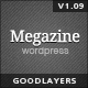 Megazine - Responsive WordPress Theme - ThemeForest Item for Sale