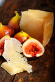 pecorino cheese and fresh figs - PhotoDune Item for Sale