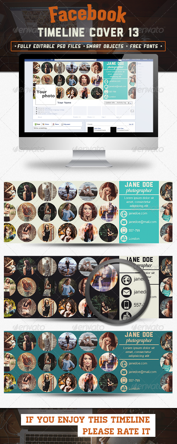 GraphicRiver Facebook Timeline Cover 13 6794417