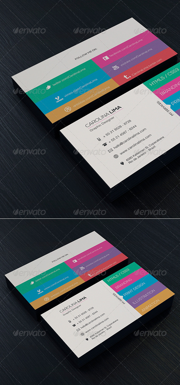 Designer Business Card Vol 2 - Creative Business Cards