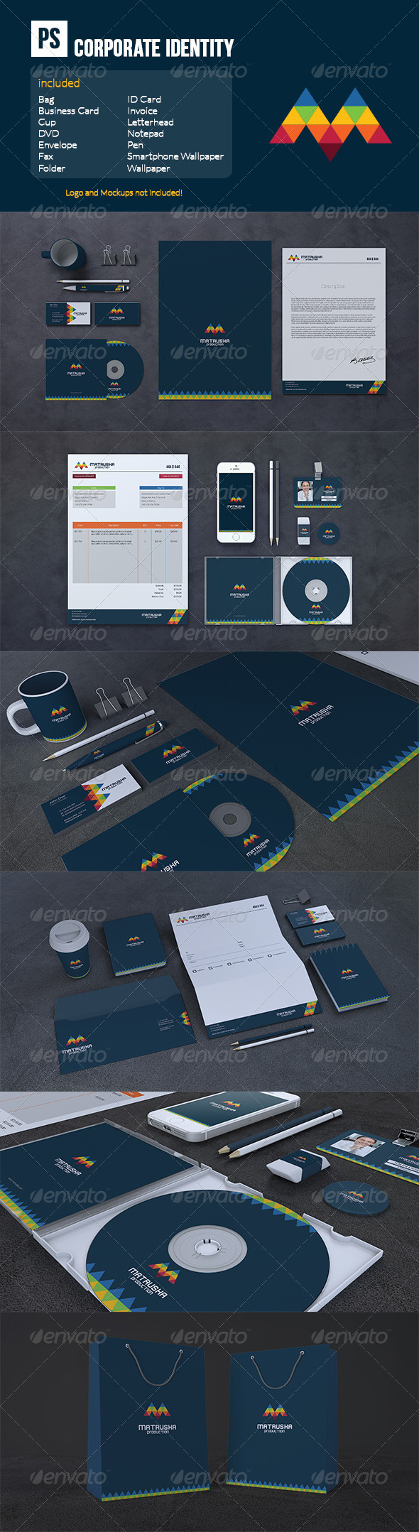 GraphicRiver Corporate Identity 6795245