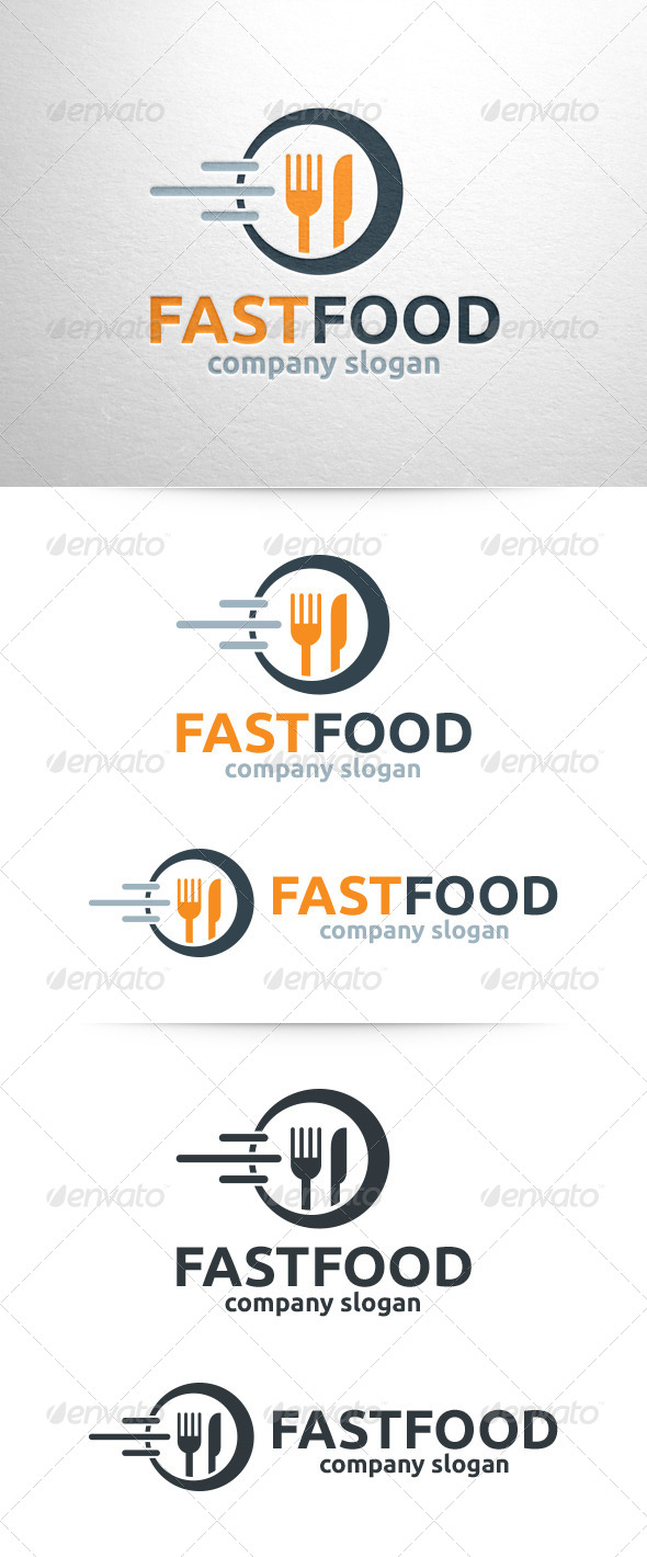 GraphicRiver Fast Food Logo Template 6795485