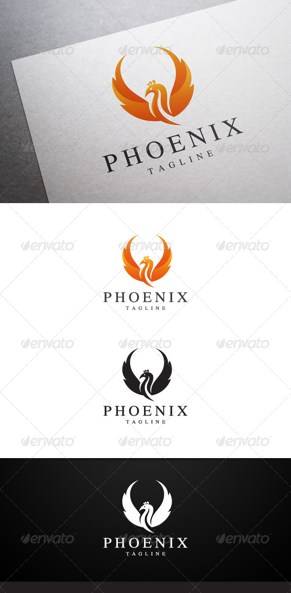 GraphicRiver Phoenix Logo 6796301