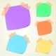 Set of Colorful Sticky Memo Notes - GraphicRiver Item for Sale