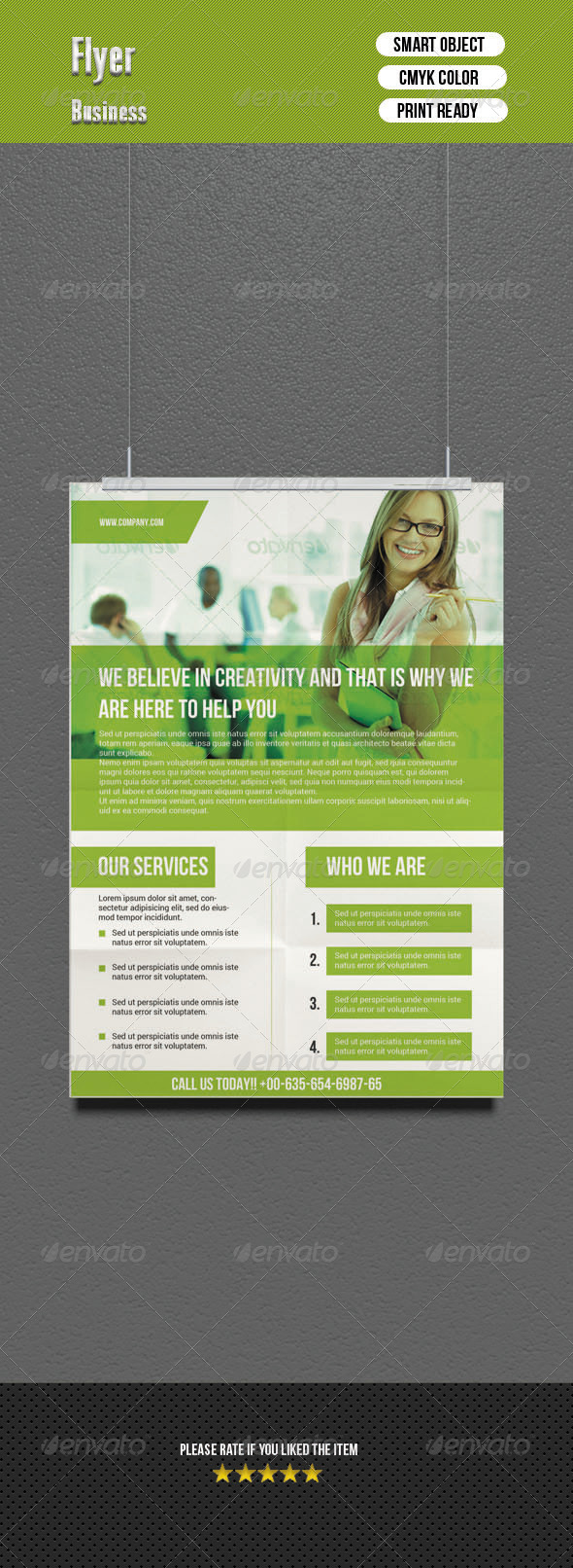 GraphicRiver Corporate Flyer 6796438