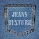 Back Pocket on Realistic Jeans Texture - GraphicRiver Item for Sale