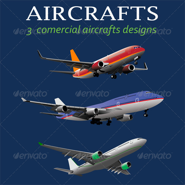 GraphicRiver Aircrafts 6797256