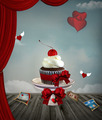 Valentine Cupcake - PhotoDune Item for Sale